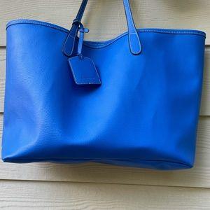 BARRINGTON Leather Large Tote Bag Purse